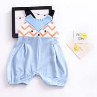 Girls Dresses Fox Cartoon Baby Rompers Kids Jumpsuits Sleeve...
