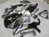 Molde de injeção top vendendo kit de carenagem para Yamaha YZF R1 09 10 11-14 carenagens de prata preto conjunto YZF R1 2009-2014 OY23