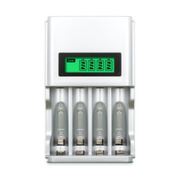 903 Display LCD a 4 slot Caricabatterie intelligente UE USA per batterie ricaricabili NiCh NiCh AA / AAA