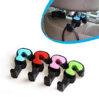 Универсальный автомобиль крючки скрипка для одежды сумки продуктовые сумки удобный подголовник стул спинка сиденья задний держатель для хранения стойки вешалки
