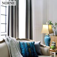 Norne Estilo Moderno Cor Sólida Veludo Escuro Super Macio Cortinas para Sala de estar Sala de estar Cortinas Cortina do quarto, um painel