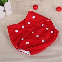 Cubierta del pañal del bebé Un tamaño del pañal del paño Impermeable respirable PUL Pañal reutilizable cubre los pantalones para el ajuste del bebé 0-24kg Envío libre
