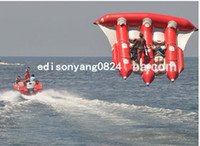 高品質の膨脹可能な飛行魚の船、膨脹可能なバナナけん引フライフィッシュ