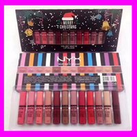 2017 Newest NYX 12 colors Merry Christmas lipstick lip gloss...
