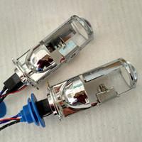 Lâmpadas HID 35W universal Mini H4 Xenon lâmpadas HID projetor lente-xenon bi para o farol do carro Luz com chicote de fios