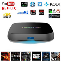 T95R PRO Amlogic S912 Android TV Box Octa Core 2G / 16G Android 6.0 TV Box WiFi 2.4G / 5.8G BT4.0 H.265 4K Smart TV Player