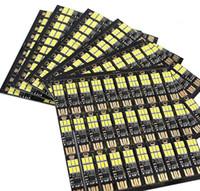 Yeni Mini Cep Kart USB Güç 6 LED Anahtarlık Sıcak Ligh 1 W Güç Banka Bilgisayar Laptop için 5 V Dokunmatik Dimmer