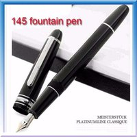 Luxury Pens Classic 14K Pens 145 black Fountain pen   ballpo...