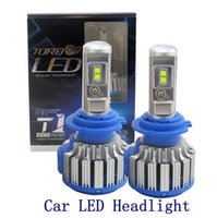 2PCS Car LED Headlights H1 H3 H4 H7 H11 9005 9006 70W 7000lm...