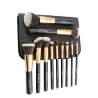 11 Pieces Makeup Brush Set Professional Blusher Eye Shadow M...