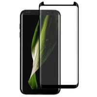 Samsung S7edge / S8 / S8 artı CAM-M Tam Kapsama Perakende Paketi Ile Ultra Clear Çizilmez Temperli Cam Ekran Koruyucu