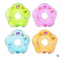 Swim Neck Ring Inflatable Baby Swimming Accessories Baby Tub...
