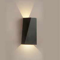 1PC 6W Indoor LED Wall Sconce Light Fixture Up Down Wall Lam...
