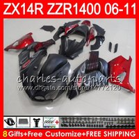 Body For KAWASAKI NINJA ZZR1400 14 R ZX14R 06 07 08 09 10 11...