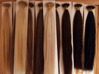 """ELIBESS Top Qualité Nano Anneaux Extensions de Cheveux double dessiné 1g / Strand 100g / pack 16 """"-24"""" 1B # NoTangle No Shedding Livraison Rapide"""