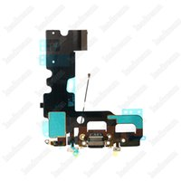 100 PCS USB Dock Conector de Carregamento Port Carregador Flex Cable para iPhone 7 plus 4.7 polegada frete Grátis