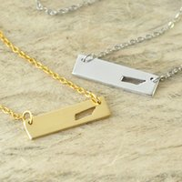 Tennessee Bar Necklace Cut Out Map Necklace Alloy State Neck...