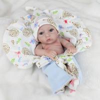 28 cm Imitación Reborn Baby Doll Realista de Vinilo de Silicona Suave Recién Nacido Bebé Niño Cumpleaños Regalo de Juguete