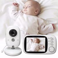 3.2 pouces sans fil vidéo couleur bébé moniteur haute résolution bébé nounou caméra de sécurité vision nocturne surveillance de la température radio baby-sitter