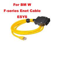 ESYS Dados Para BMW ENET Ethernet Interface E-SYS ICOM ICOM Codificação para F-serie icom a2 para bmw cabo de diagnóstico
