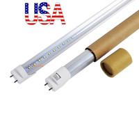 Lager i US + BI-pin 4FT LED T8 Tubes Light 18W 22W T8 Byt vanlig rör AC 110-240V UL FCC