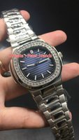 luxury high quality automatic watch blue dial stainless stee...