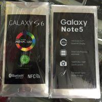 Für Samsung Galaxy S3 S4 S5 S6 Hinweis 2 3 4 5 Werksfilm OEM neue Telefon Bildschirm Objektiv Schutzfolie Aufkleber Streifen
