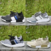 2017 New Hot NMD R1 Primeknit PK Running Shoes Athletics Dis...