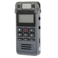 Pantalla LCD de funciones múltiples Grabadora de voz digital de 8GB Reproductor de MP3 de salida de audio USB