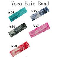 Algodão Headbands Yoga Esportes Soft Stretch Faixa de Cabelo Sweatband Softball Cabeça muito