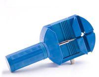 Gros-montre bande lien broche Remover Strap Ajusteur ouvreur réparation outil d'horloger avec des matières plastiques bleus chute de matériaux en gros