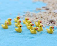 20 pcs acessórios para casa bonito pato Bonsai Ferramentas de Fadas Jardim Decoração Miniaturas Micro Paisagem Gnomos Ornamentos Terrário Estatuetas