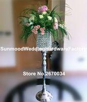 Yeni stil yüksek kalite için sıcak satış zarif düğün sahne koridor kristal ayağı düğün dekorasyon