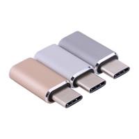 10pcs / lot 유형 -C USB 3.1 유형 C 남성 커넥터 마이크로 USB 2.0 Tablet 전화 하드 디스크 드라이브에 대 한 5Pin 여성 데이터 변환기 어댑터
