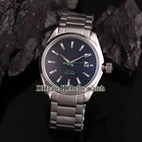 Alta qualità 007 Aqua Terra 150m James Bond Co-assiale 231.10.42.21.01.004 Blue Dial Automatic Mens Guarda la banda SS con confezione regalo