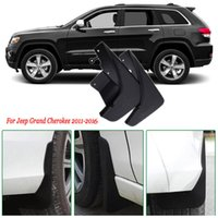 4x Guardabarros del guardabarros delantero / trasero del coche Guardabarros guardabarros Guardabarros Guardabarros Guardabarros para Jeep Grand Cherokee 2011-2016