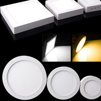 CE Dimmable 9W 15W 21W Round   Square Led Panel Light Surfac...