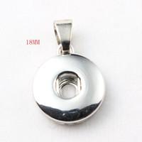 Vendita calda di alta qualità pendente della collana misura 18mm / 12mm gioielli con bottone a pressione