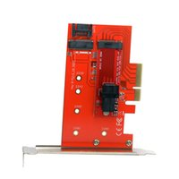 PCI- E 3. 0 x4 Lane Host Adapter M. 2 NGFF SSD to U. 2 U2 Kit SF...