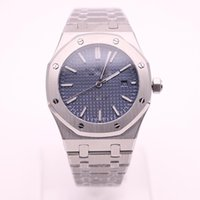 High Quality Luxury Brand Royal Oak Series Series Silver Str...