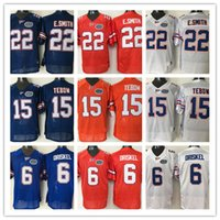 15 Tim Tebow Jersey 22 E. Smith 6 Jeff Driskel Mens College F...