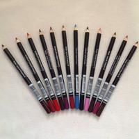 Venta al por mayor 72 PCS envío gratis nuevo ojo / labio lápiz lápiz lápiz color mezclado color marrón