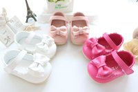 Sale 2017 Spring Autumn Baby Girl Shoes Cute Lace Bowknot Pr...