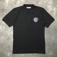 2017 nueva camiseta casual de moda camiseta de los hombres camiseta de alta calidad de manga corta Pecho rottweiler impresión impresa Tops Tees