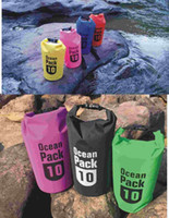 Super sealed waterproof bucket bag, 10L drifting waterproof ...