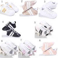 Children Soft Bottom Sneakers Shoes Fashion Baby Boys Girls ...