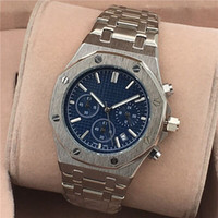 All Subdials Work AAA Mens or womenes Watches Steel Quartz W...
