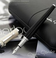 High Quality MB black resin Fountain pen With pearl Clip off...
