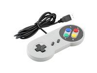 4 typy Super Controller SNES Przewodowy Klasyczny Gamepad Joystick Joypad na PC Mac Gry dla Win98 / ME / 2000/2003 / XP / Vista