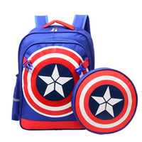 New US captain backpack boys and girls bag 6- 12 years old sh...